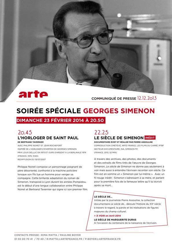 Soirée Simenon